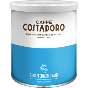 Caffè decaffeinato Costadoro in grani