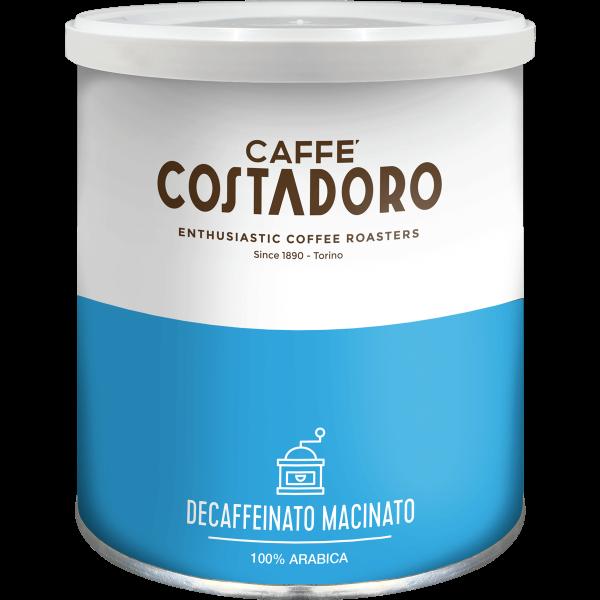 Caffè decaffeinato Costadoro macinato