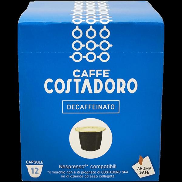 Capsule compatibili Nespresso Decaffeinato 144pz