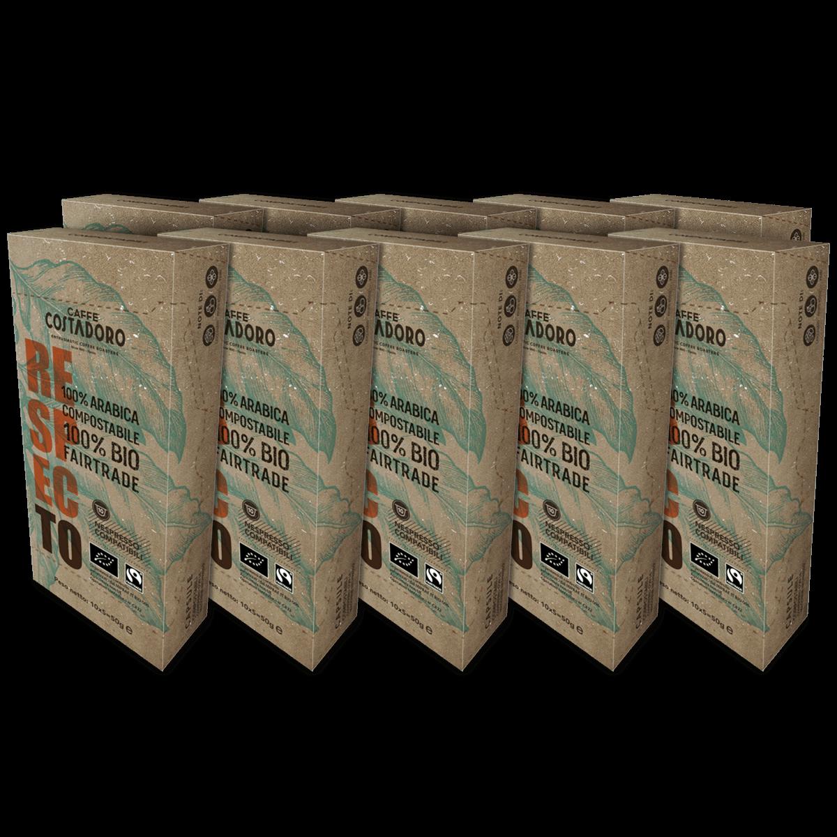 RespecTo capsule compatibili Nespresso® – 100 capsule