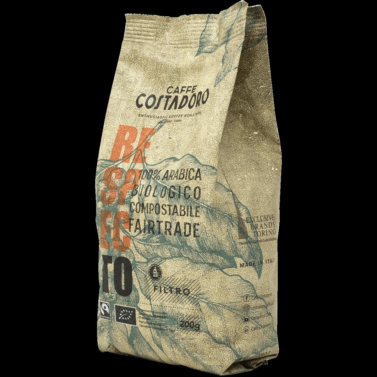 RespecTo macinato per Filtro – Sacchetto compostabile 200g