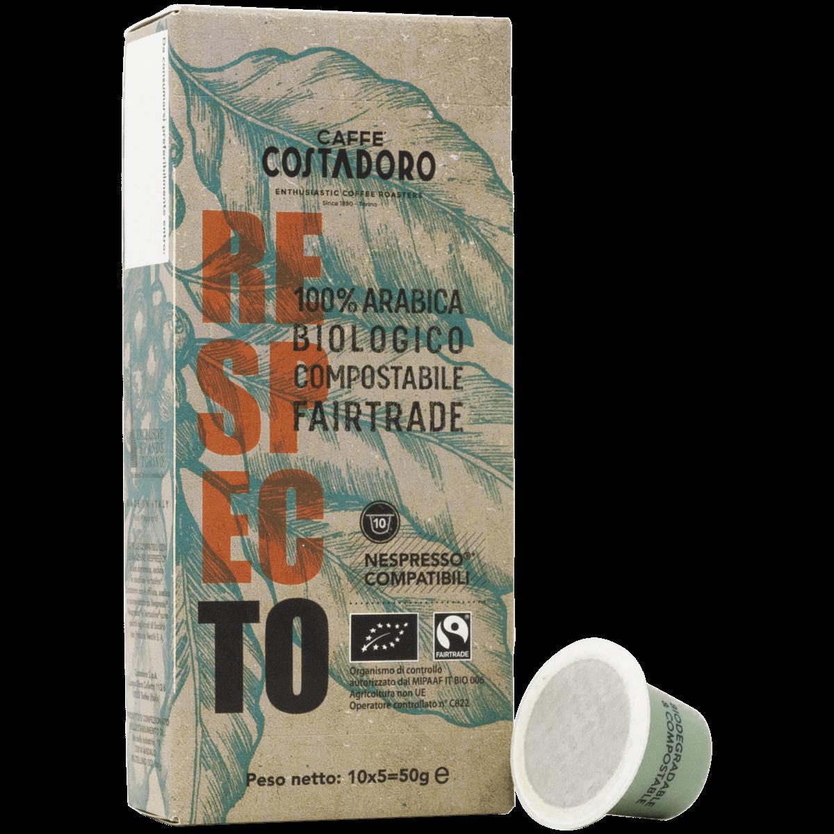 RespecTo capsule compatibili Nespresso® – 10 capsule