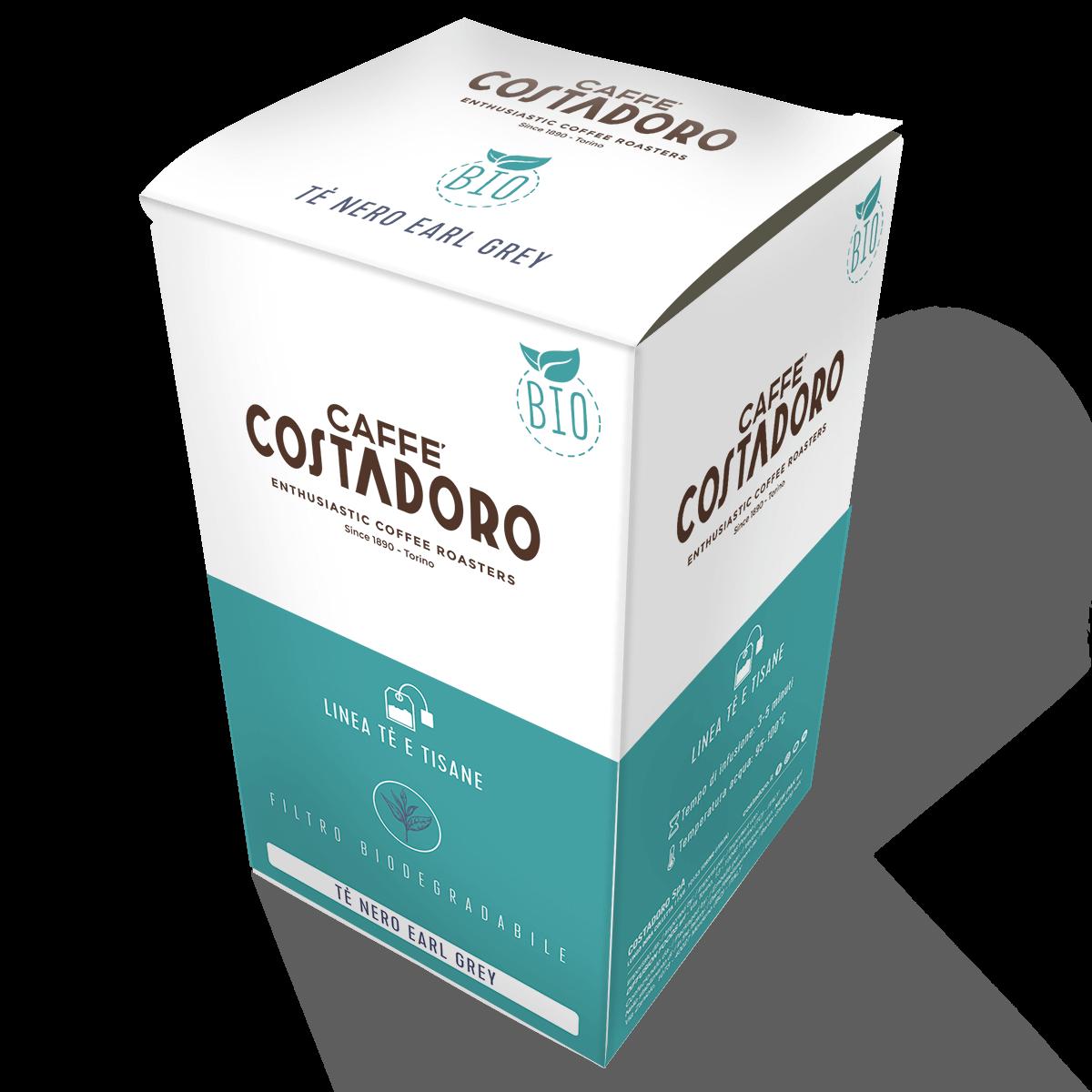 Tè nero Earl Grey – Linea Tè e infusi Costadoro