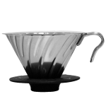 Hario Coffee Dripper V60 metal silver