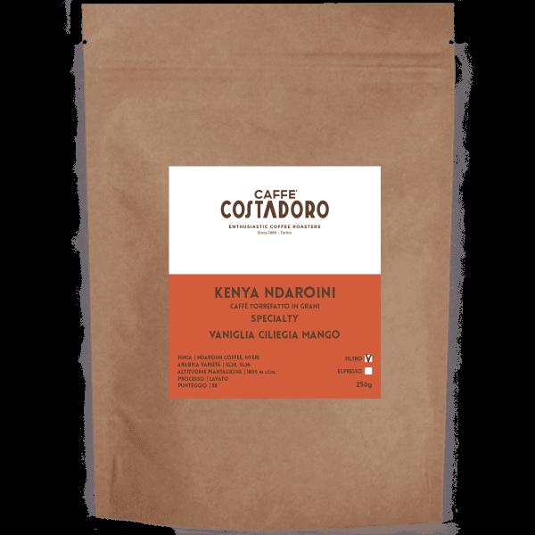 Kenya Ndaroini Specialty in grani per Filtro 250g