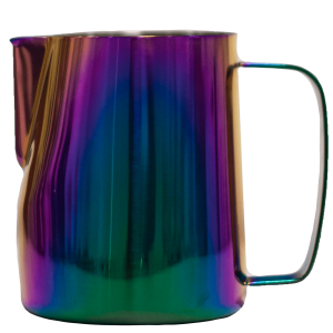Lattiera in titanio 600ml Rainbow