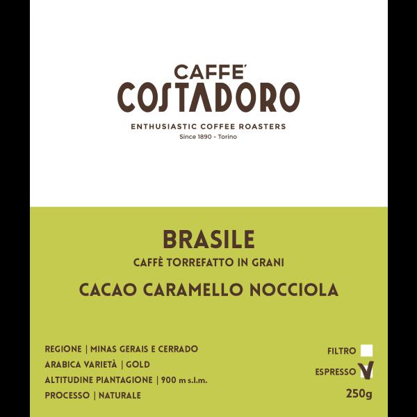 Monorigine Brasile in grani per Espresso 250g