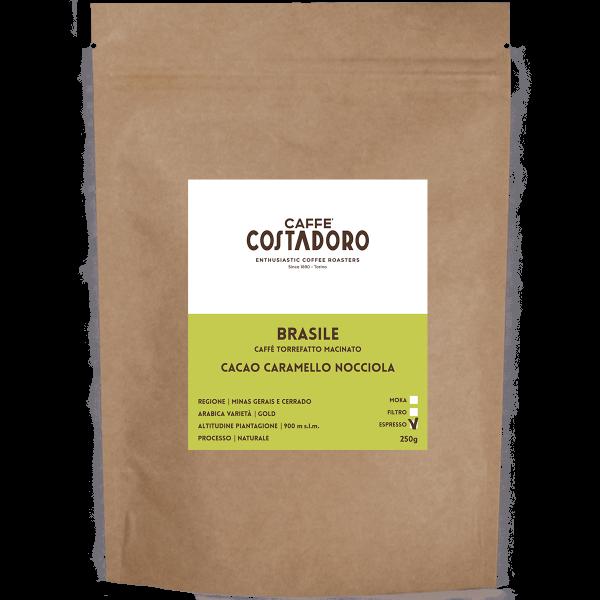 Monorigine Brasile macinato Espresso 250g