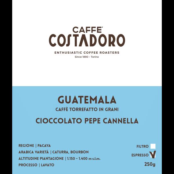 Monorigine Guatemala in grani per Espresso 250g