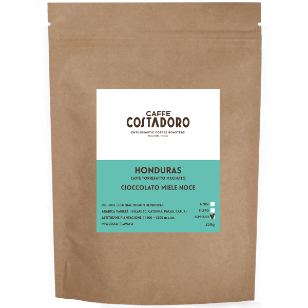 Monorigine Honduras macinato Espresso 250g