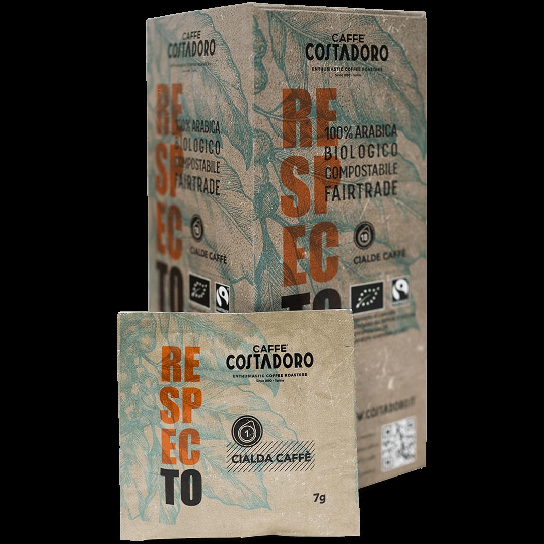 RespecTo cialde ESE compatibili compostabili – 18 cialde