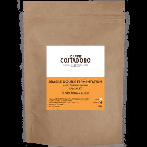 Brasile Double Fermentation in grani per Espresso 250g
