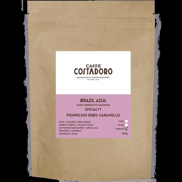 Specialty Coffee Brazil Azul macinato Espresso 250g