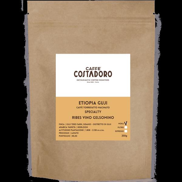 Specialty Coffee Etiopia Guji macinato Moka 250g
