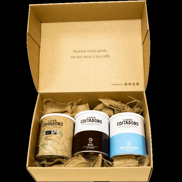 kit 3 lattine costadoro degustabox