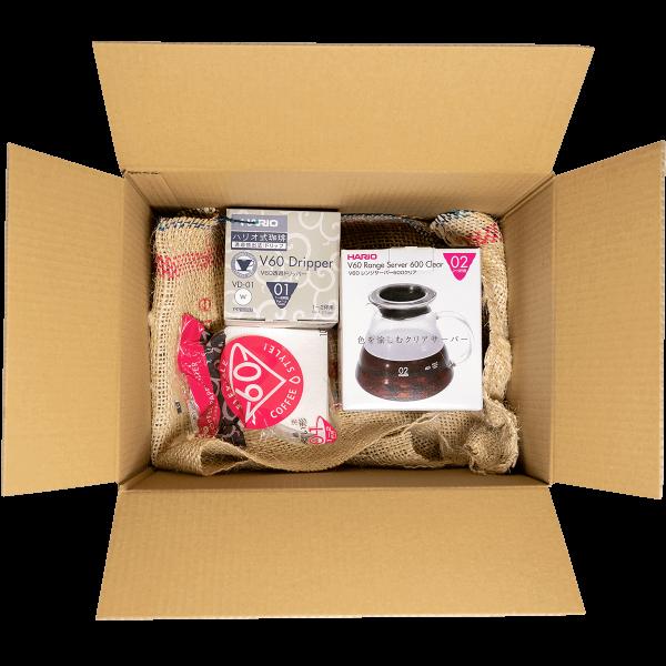 gift box brewing box costadoro