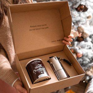 kit buongiorno christmas caffè lattina moka